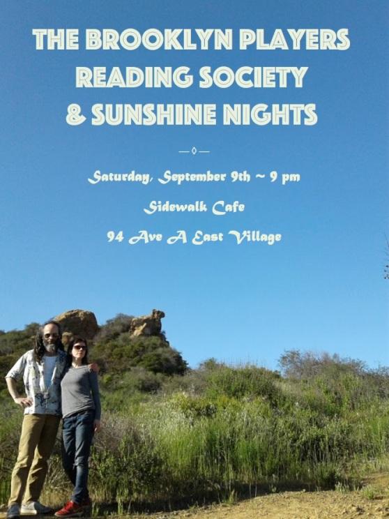 BPRS&SunshineNights 9:9:17 Poster