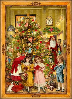 My mother loved all things Victorian, especially Victorian Christmases.